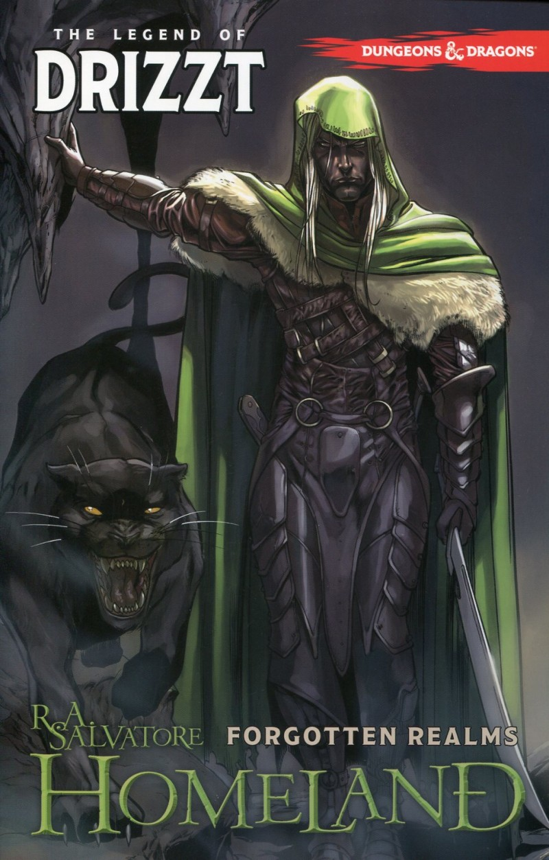 Dungeons and Dragons  Drizzt TP V1 Home