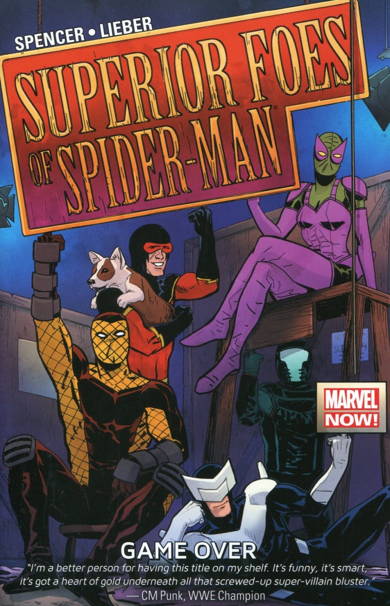 Superior Foes of  Spider-Man TP V3 Game Ove