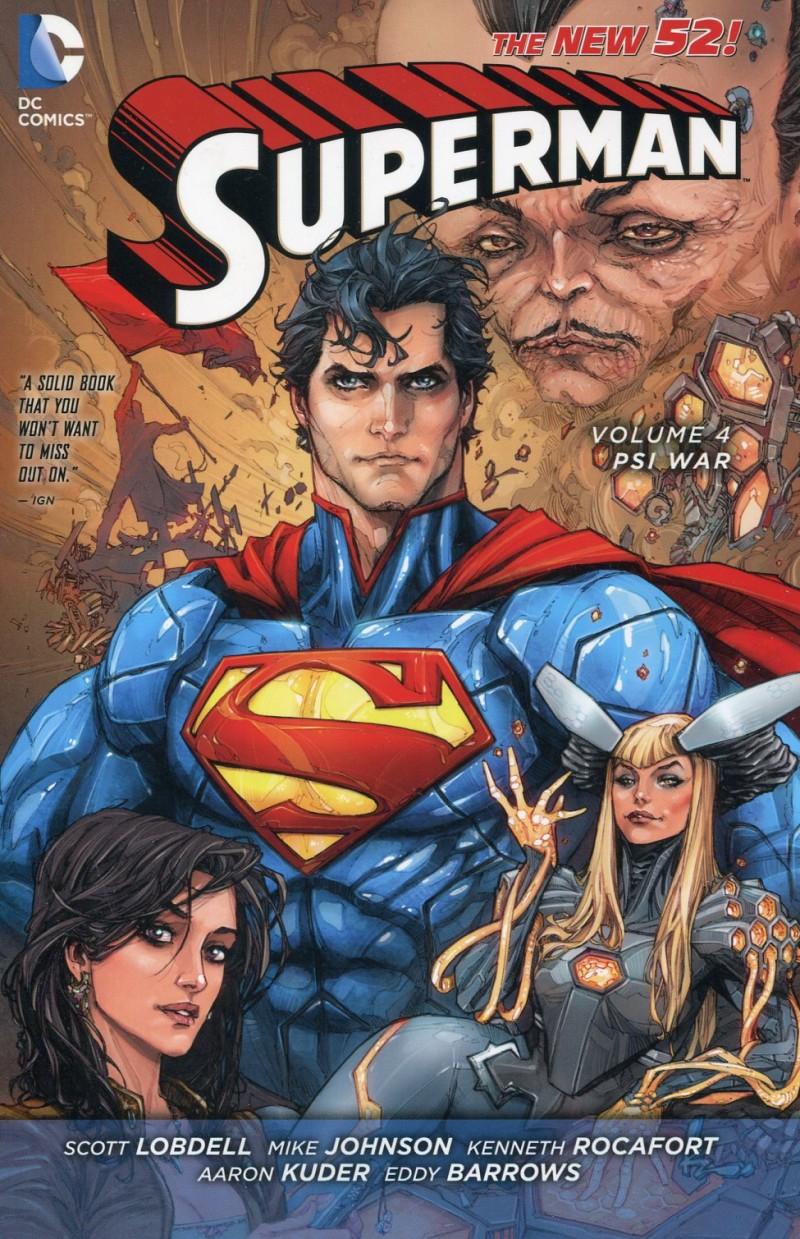 Superman TP New 52 V4 Psiwar