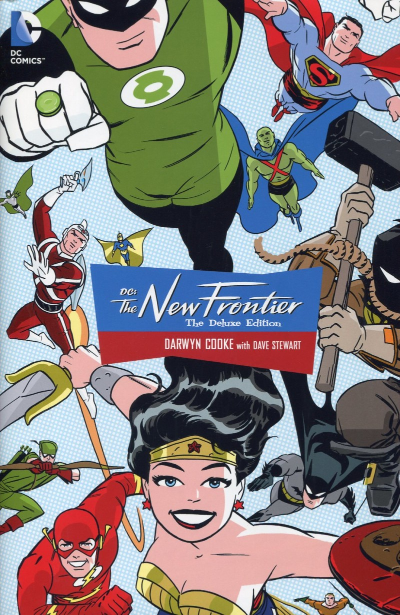 DC New Frontier HC  Deluxe Edition