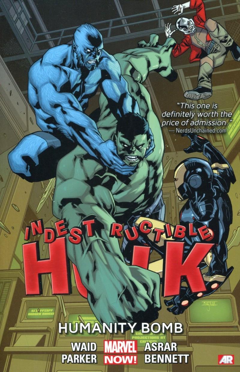 Indestructible Hulk TP V4 Humanity Bomb