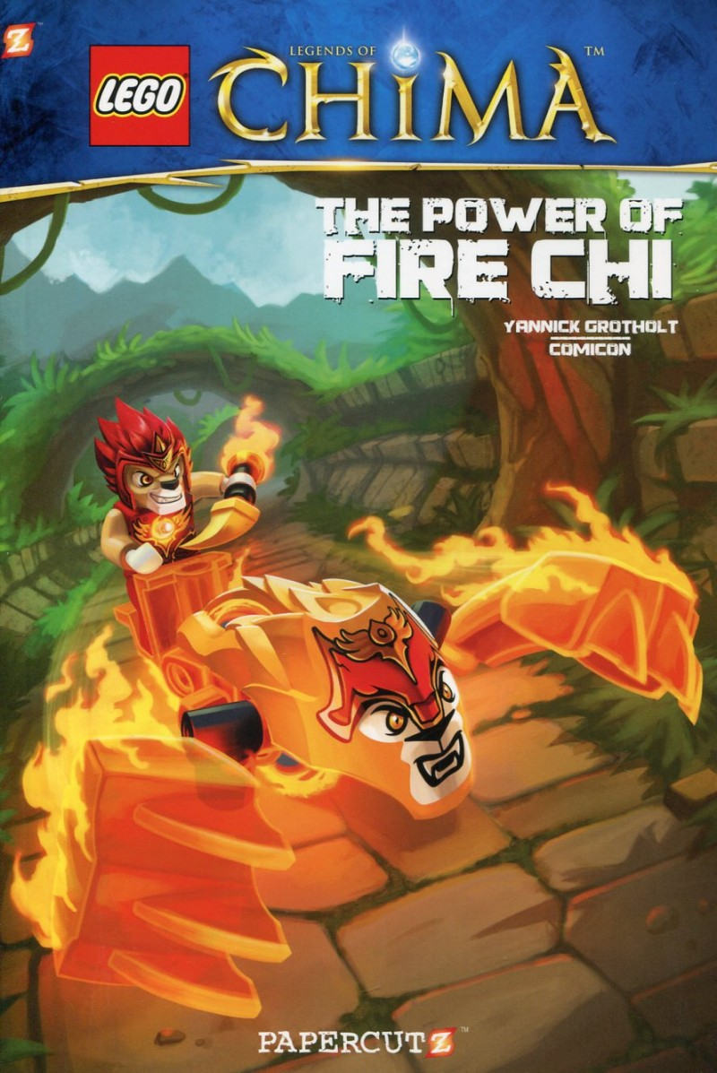 Lego GN Legends of Chima  V4 Fire Chi