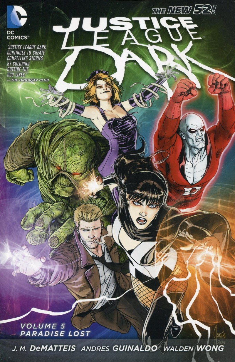 Justice League Dark TP  New 52 V5 Paradise Lost
