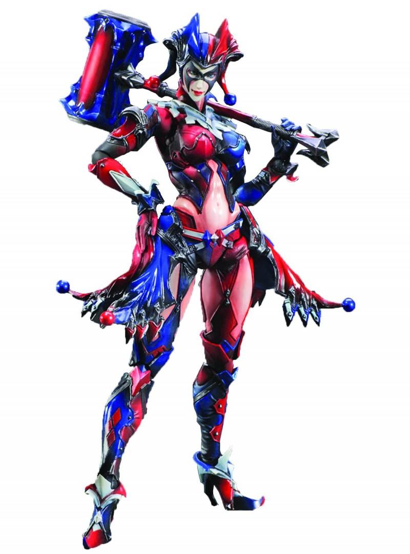 DC Play Arts AF Harley  Quinn Kai