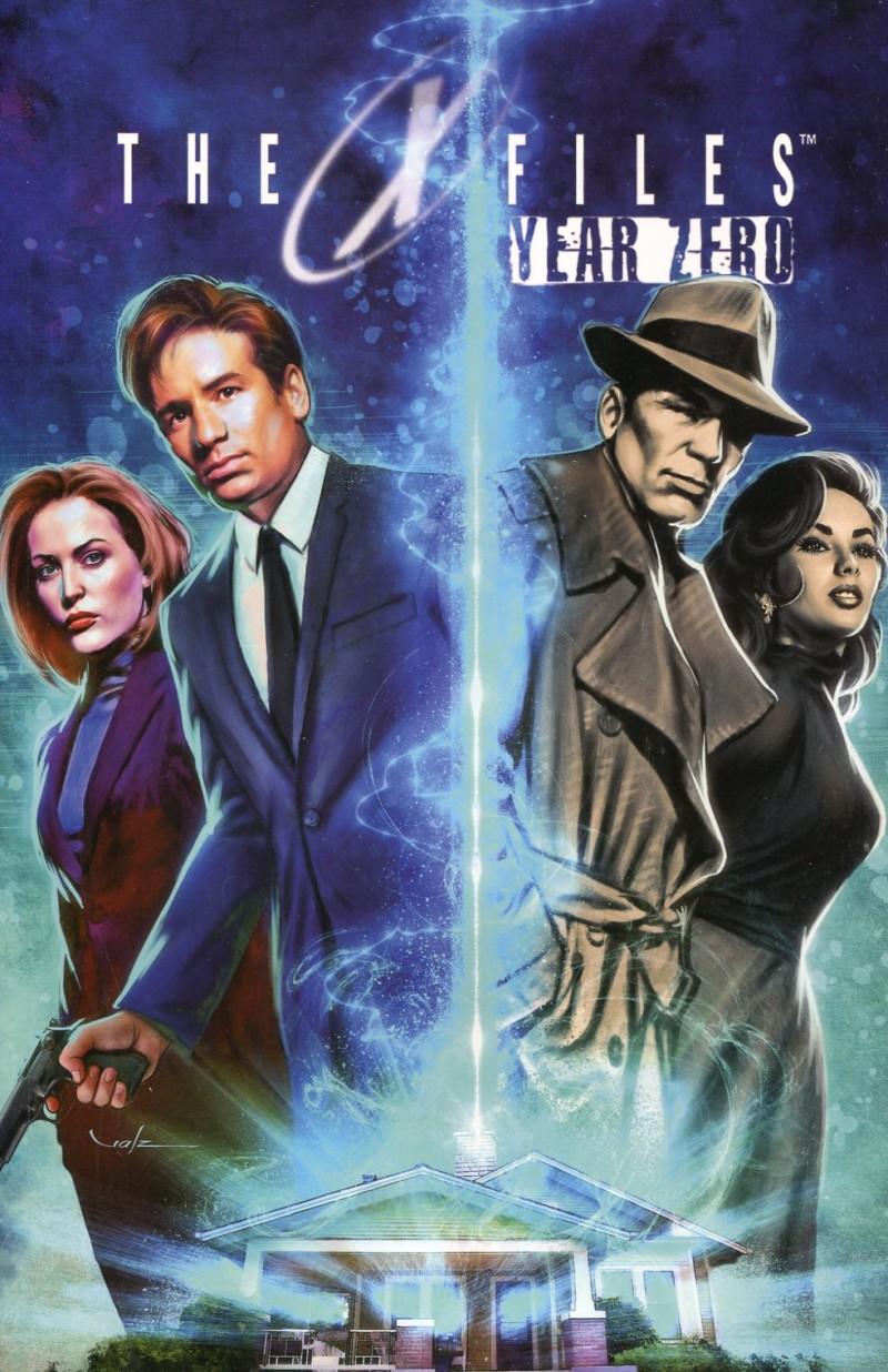 X-Files Year Zero TP