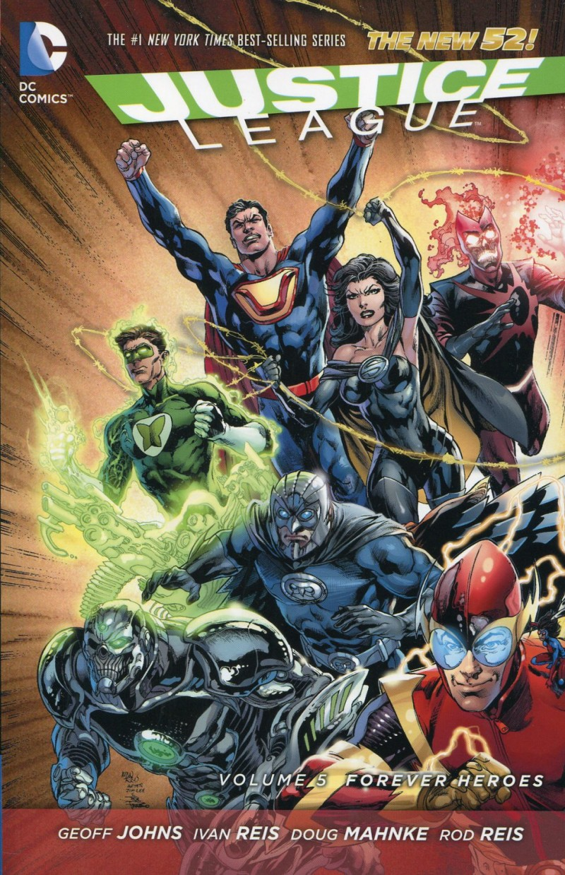 Justice League TP New 52  V5 Forever Heroes