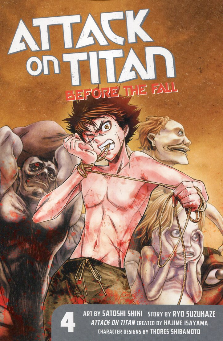 Attack On Titan GN Before the Fall V4