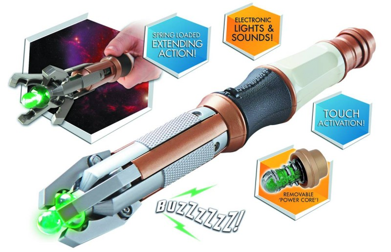 Dr Who Sonic Screwdriver  12th Doctor