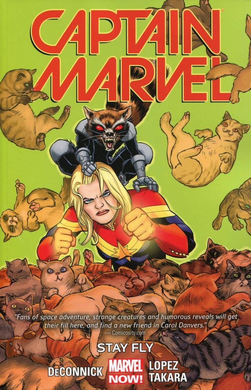 Captain Marvel TP 2014 V2 Stay Fly