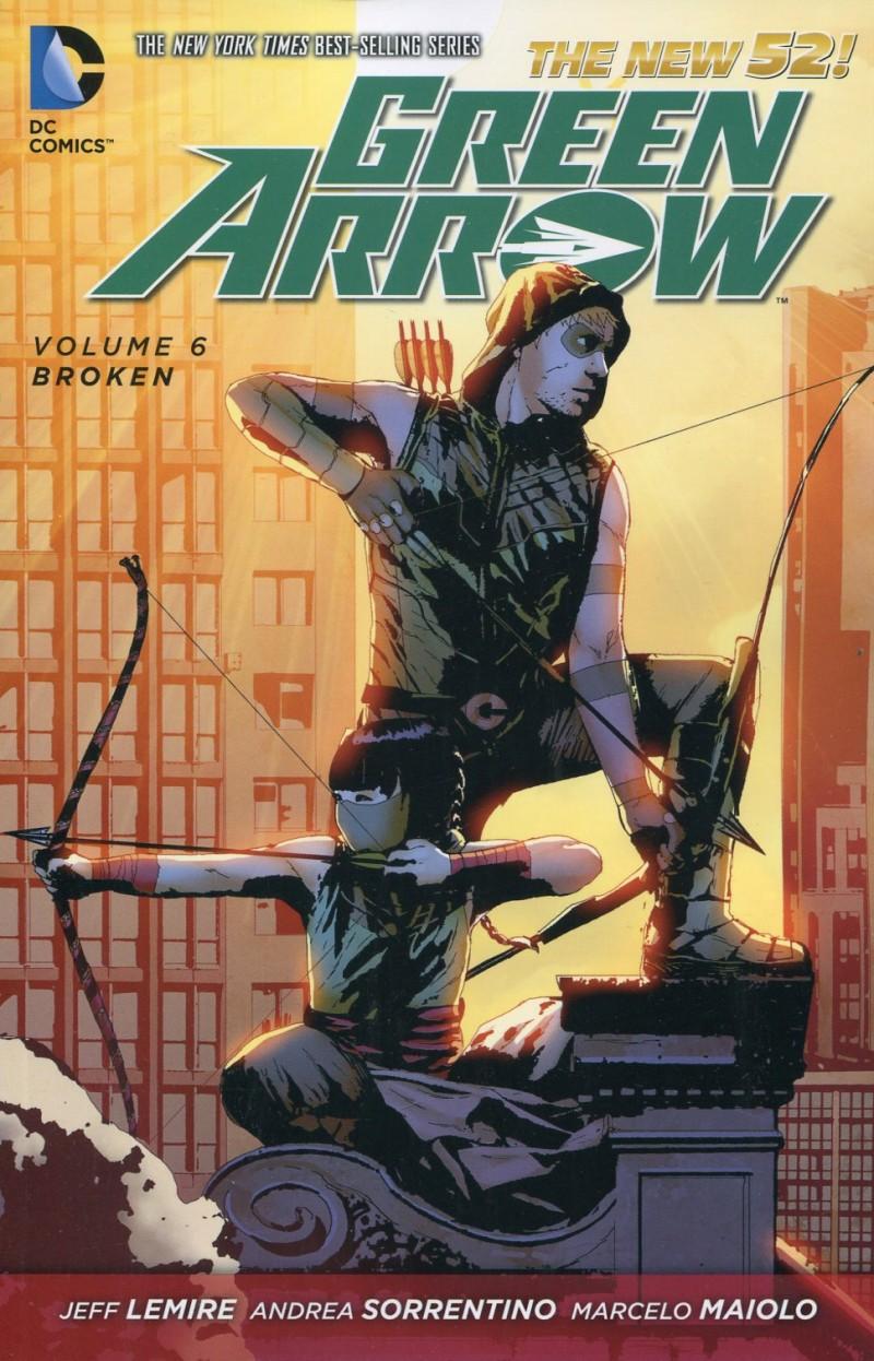 Green Arrow TP New 52 V6  Broken