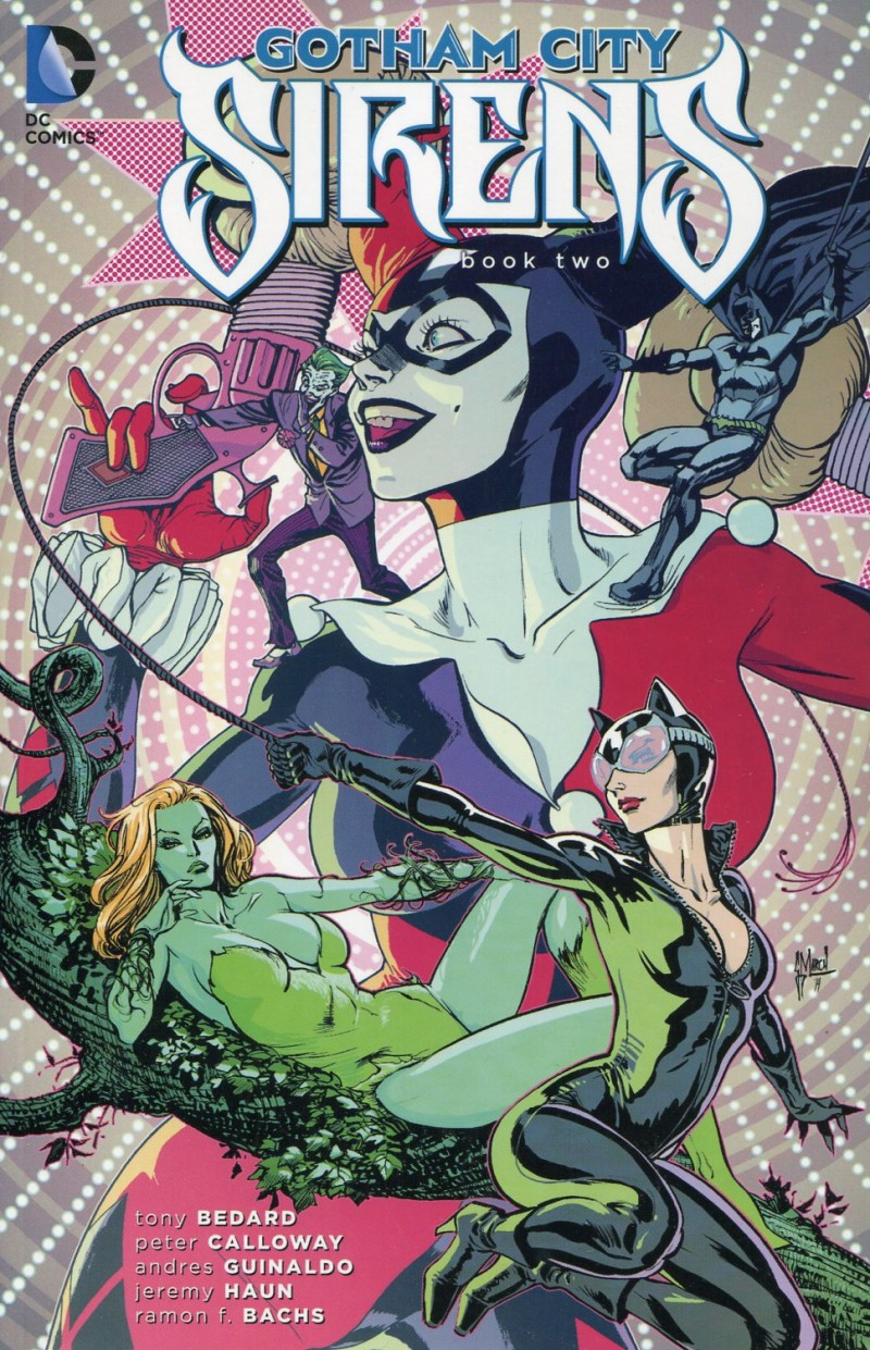 Gotham City Sirens TP Deluxe Edition V2