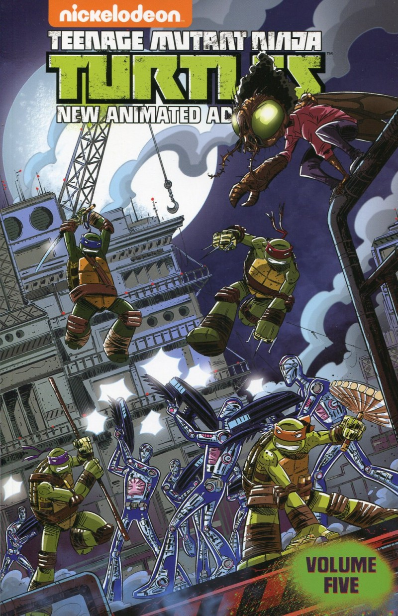 TMNT New Animated Adventures TP V5
