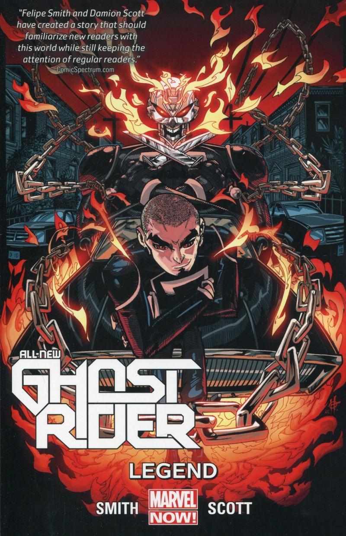 All New Ghost Rider TP V2 Legend