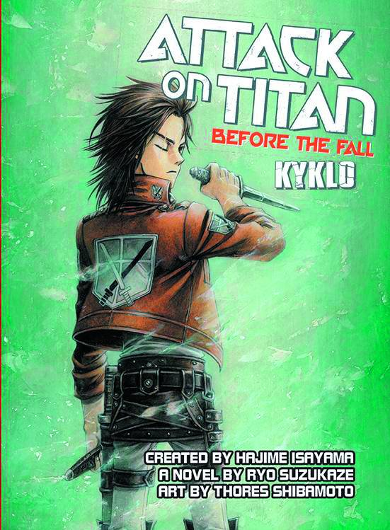 Attack On Titan Before  the Fall Kyklo Novel