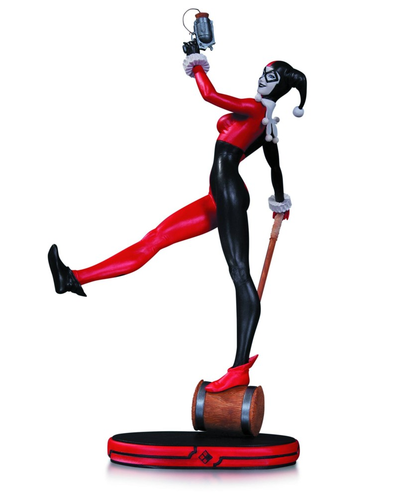 DC Statue Cover Girls Classic Harley Quinn