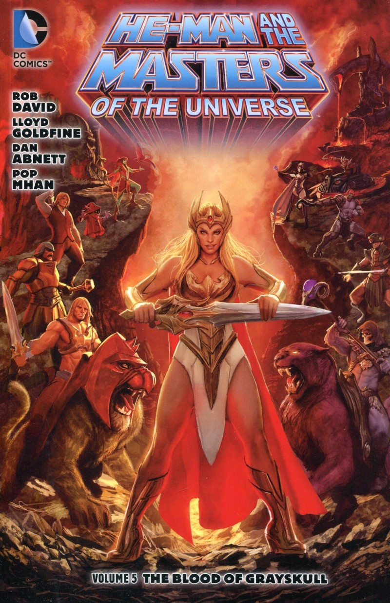 He Man and the Masters of the Universe TP V5