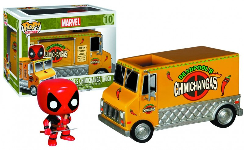 Funko Pop Rides Deadpools Chimichanga Truck