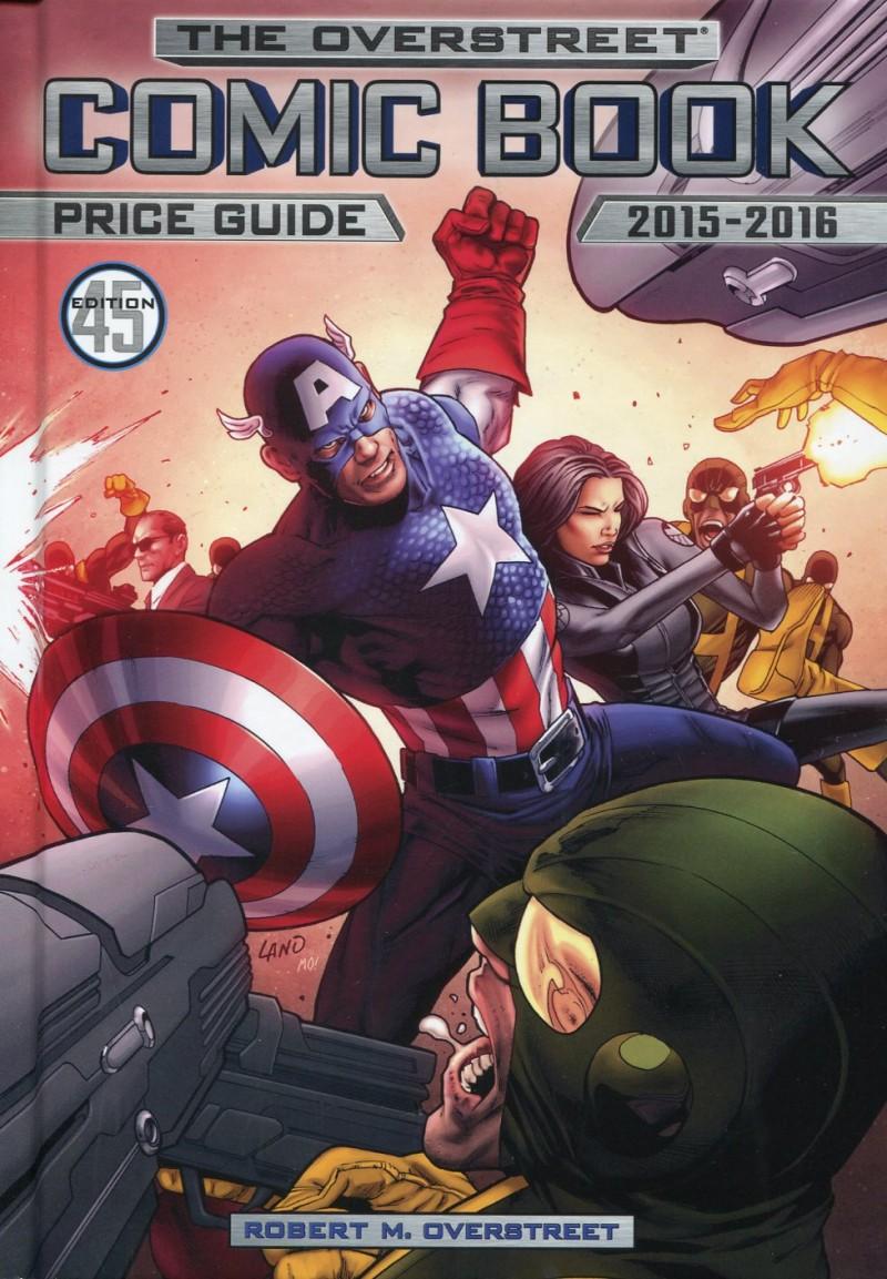 Overstreet V45 2015 HC  Captain America