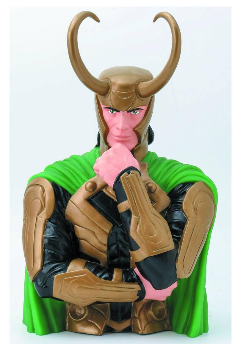 Marvel Bank Loki Bust