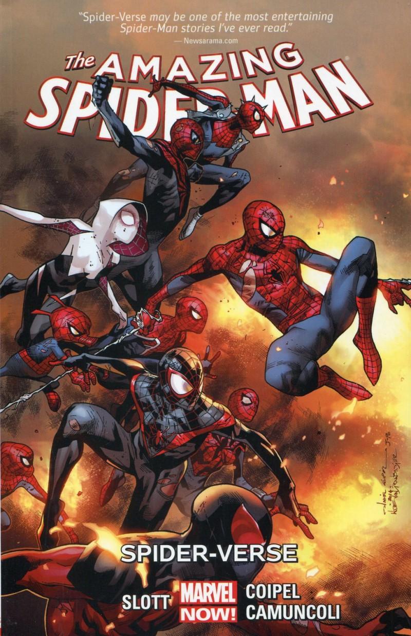 Spider-Man TP Amazing Now V3 Spider-Verse