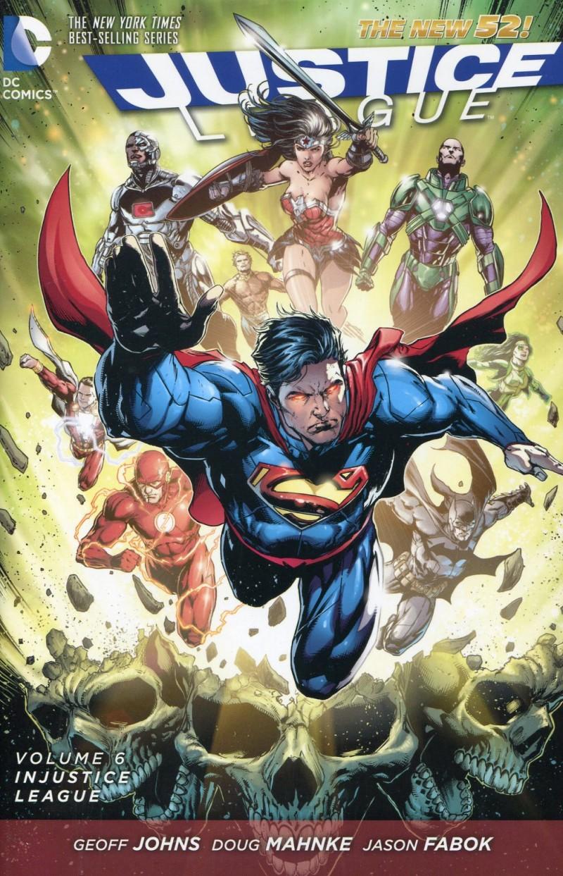 Justice League HC New 52  V6 Injustice League