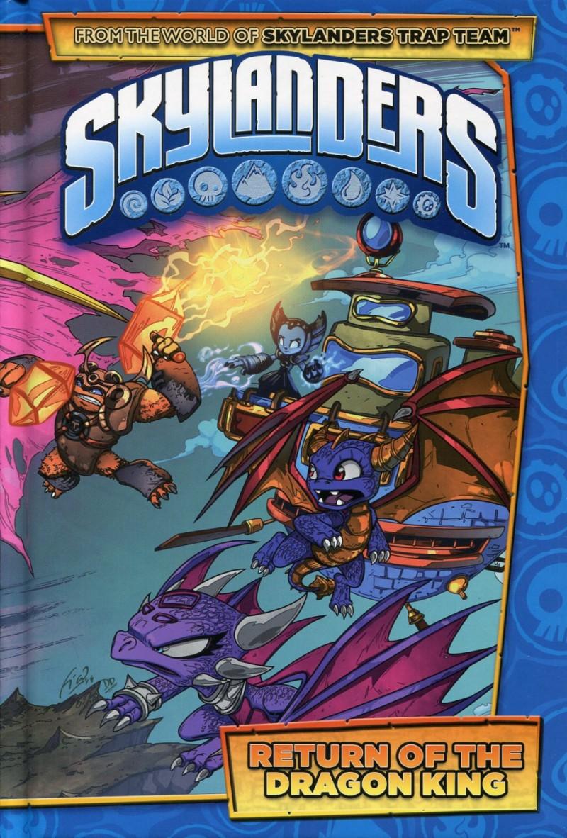 Skylanders HC Return of Dragon King