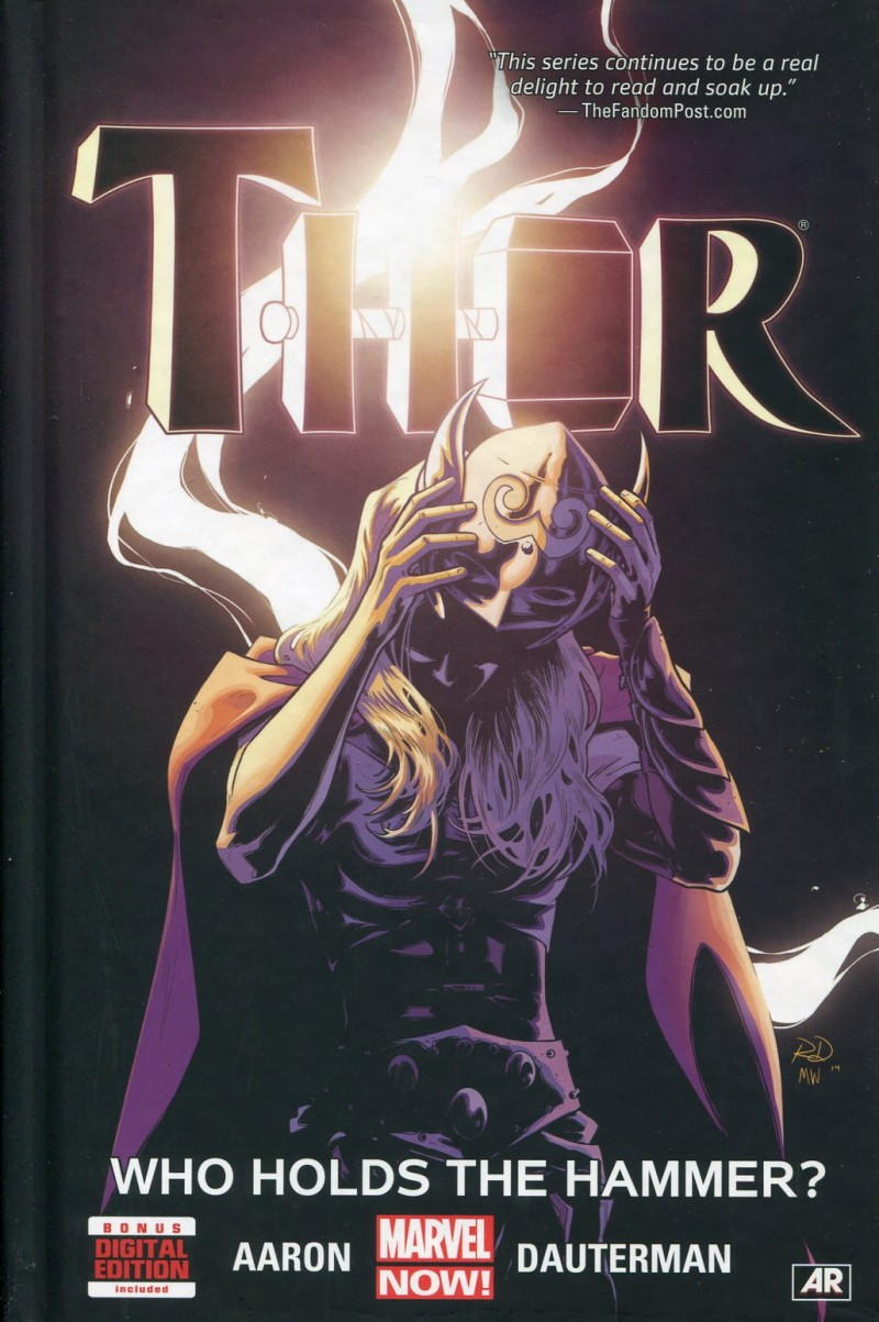 Thor HC 2014 Who Holds  Hammer