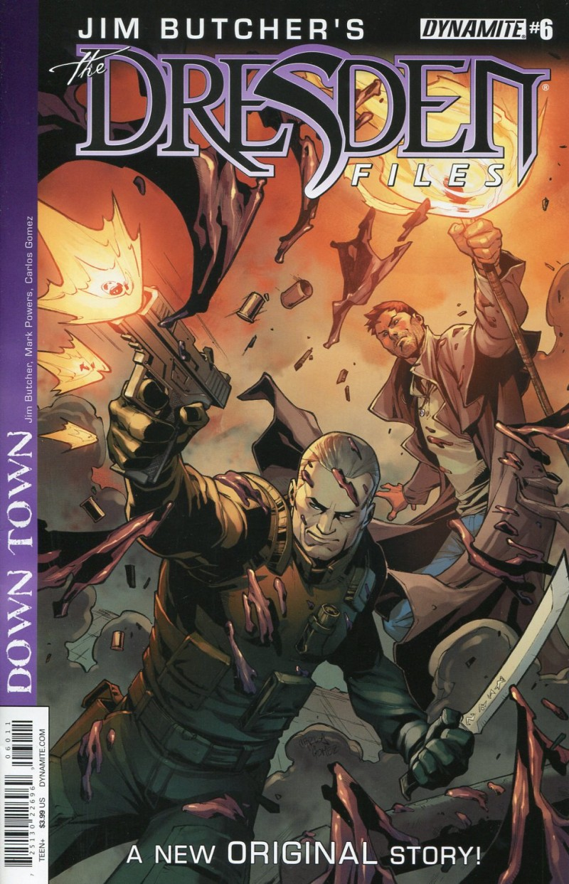 Dresden Files V7 #6 Files Down Town