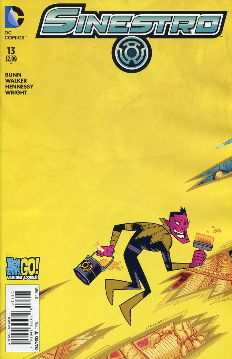 Sinestro #13  Teen Titans Go CVR