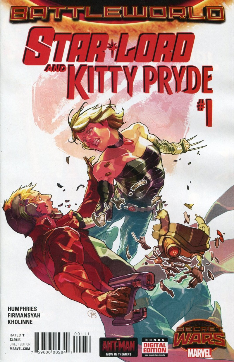 Star Lord and Kitty Pryde #1 Secret Wars