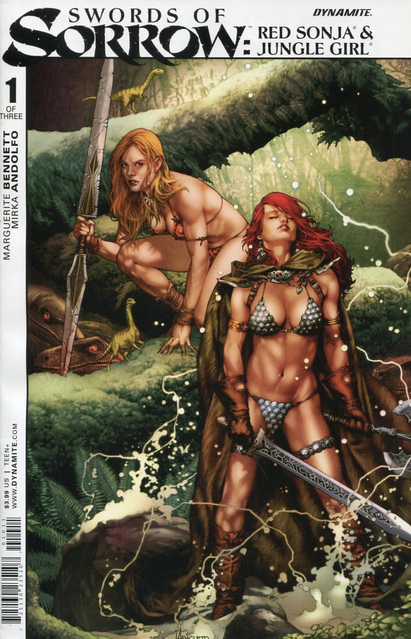 Swords of Sorrow Sonja  Jungle #1