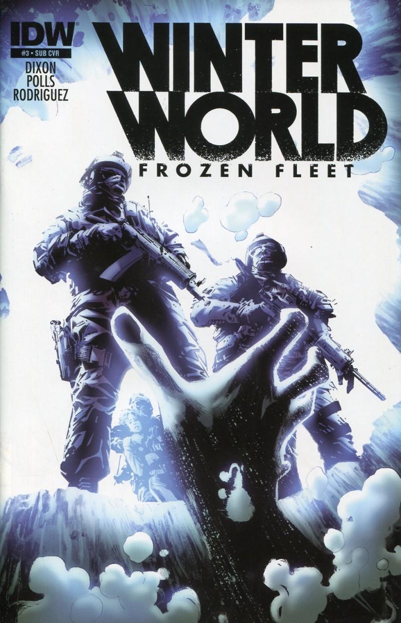 Winterworld V2 Frozen Fleet #3 Sub CVR