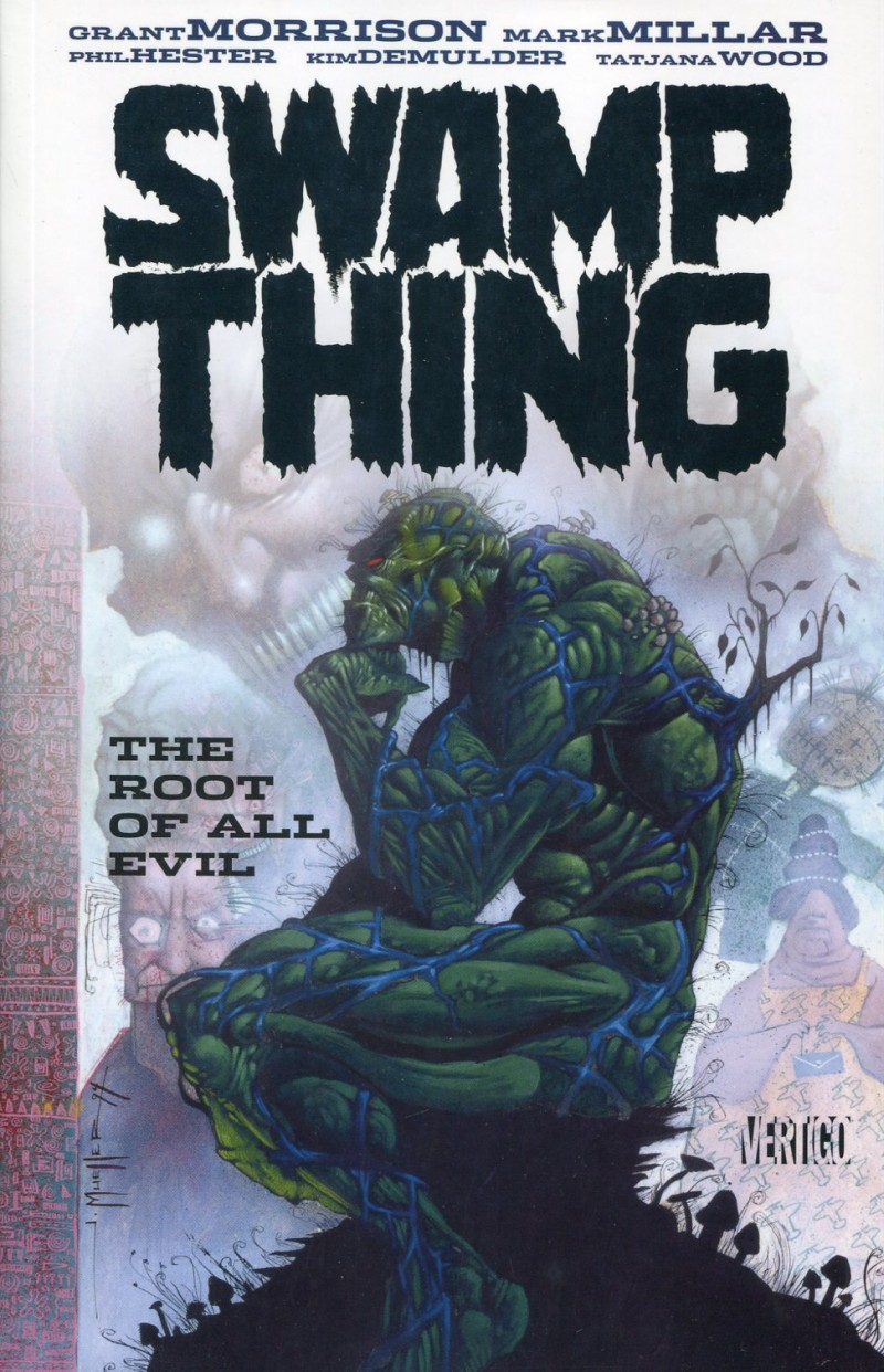 Swamp Thing TP Roots of All Evil