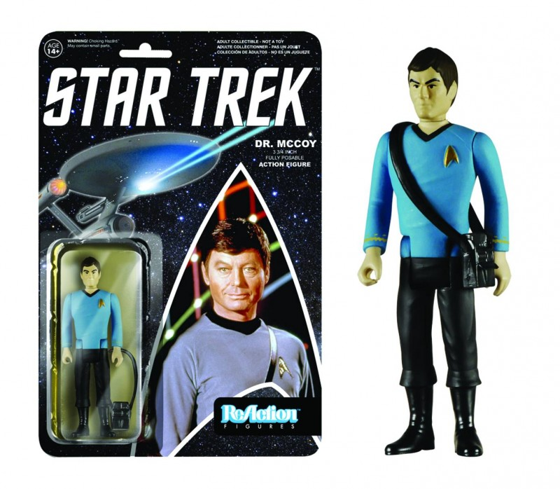 Reaction Star Trek Bones  AF