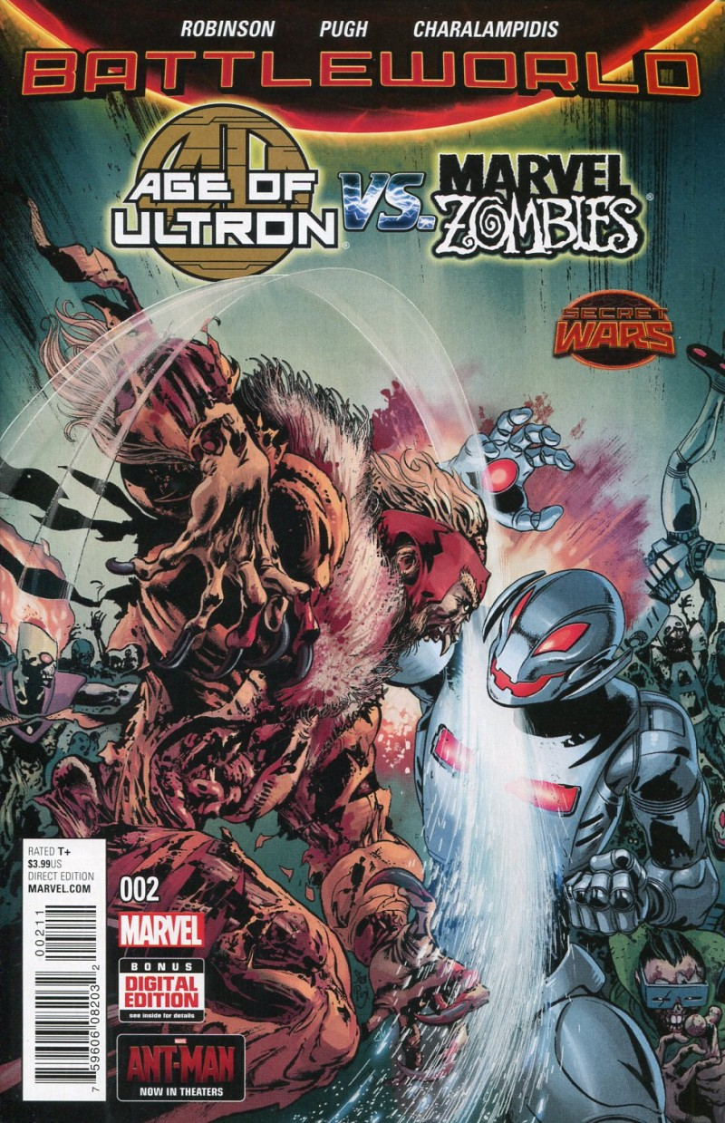 Age of Ultron Vs Marvel Zombies #2 Secret Wars