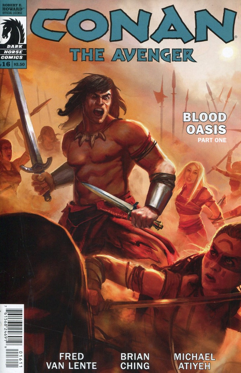 Conan the Avenger #16