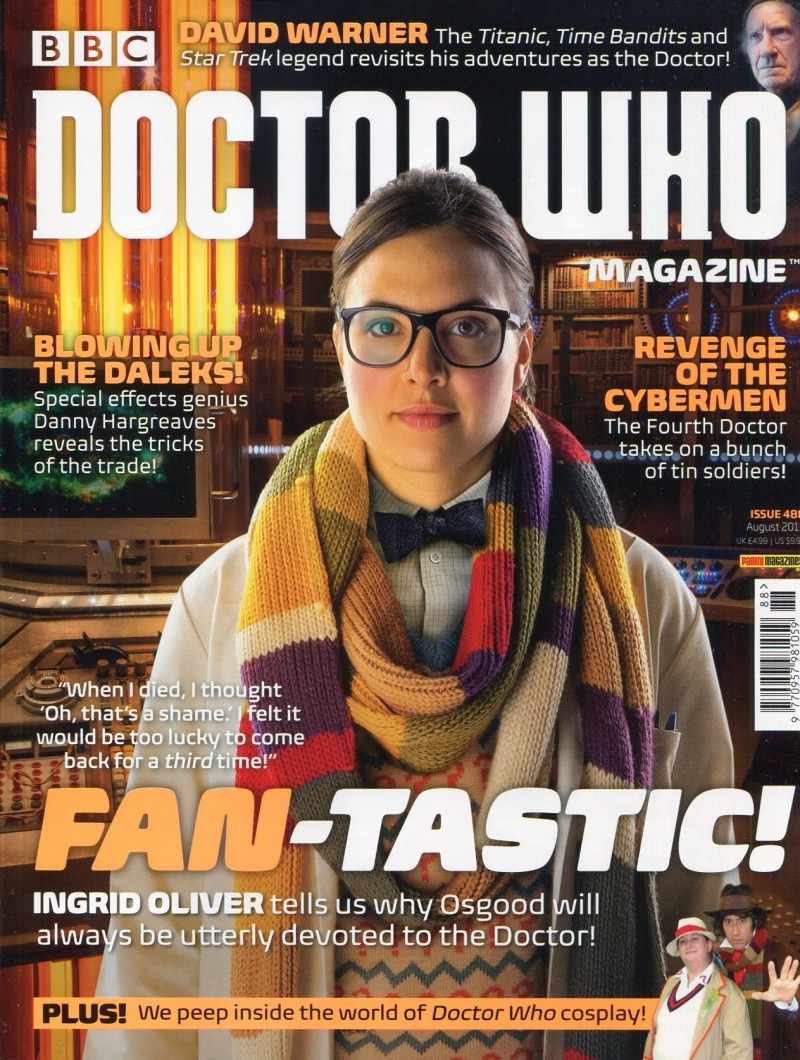Dr Who Mag #488