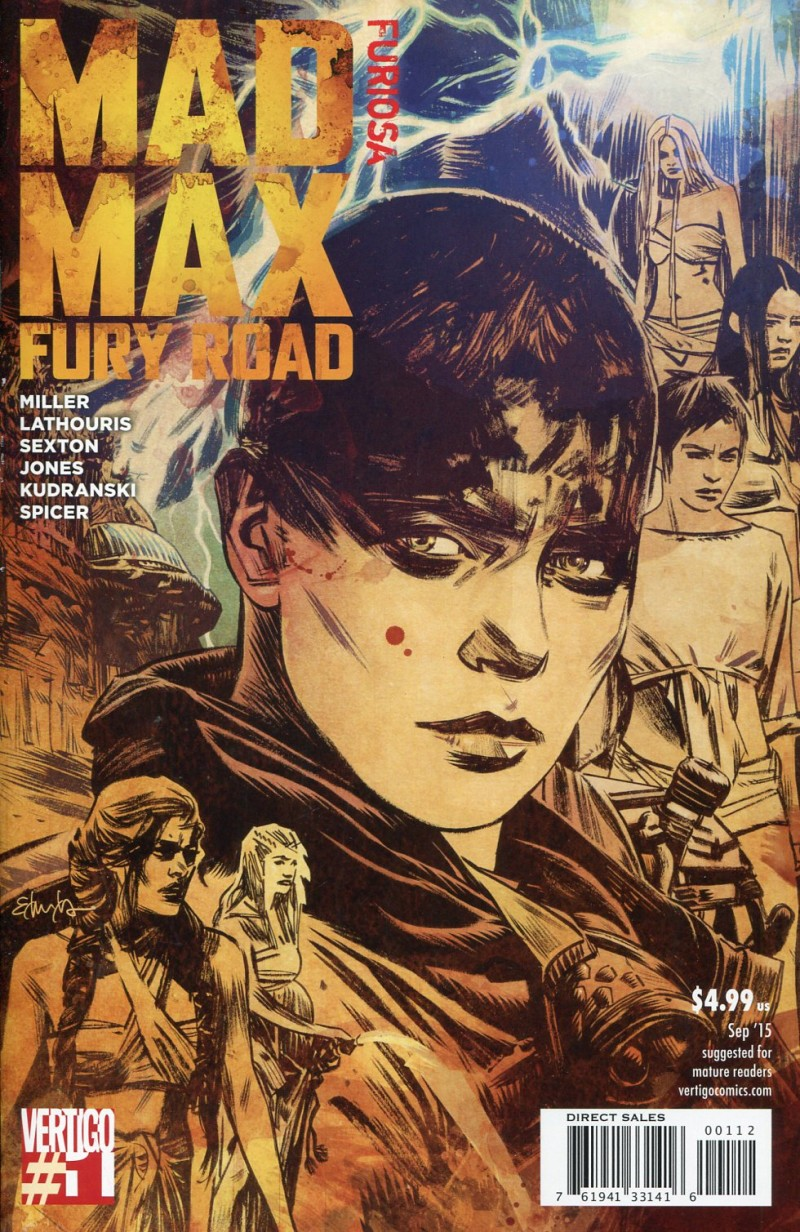 Mad Max Fury Road Furiosa #1 2nd Printing