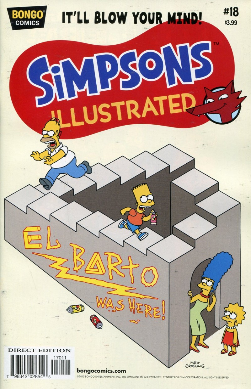 Simpsons Illustrated #18