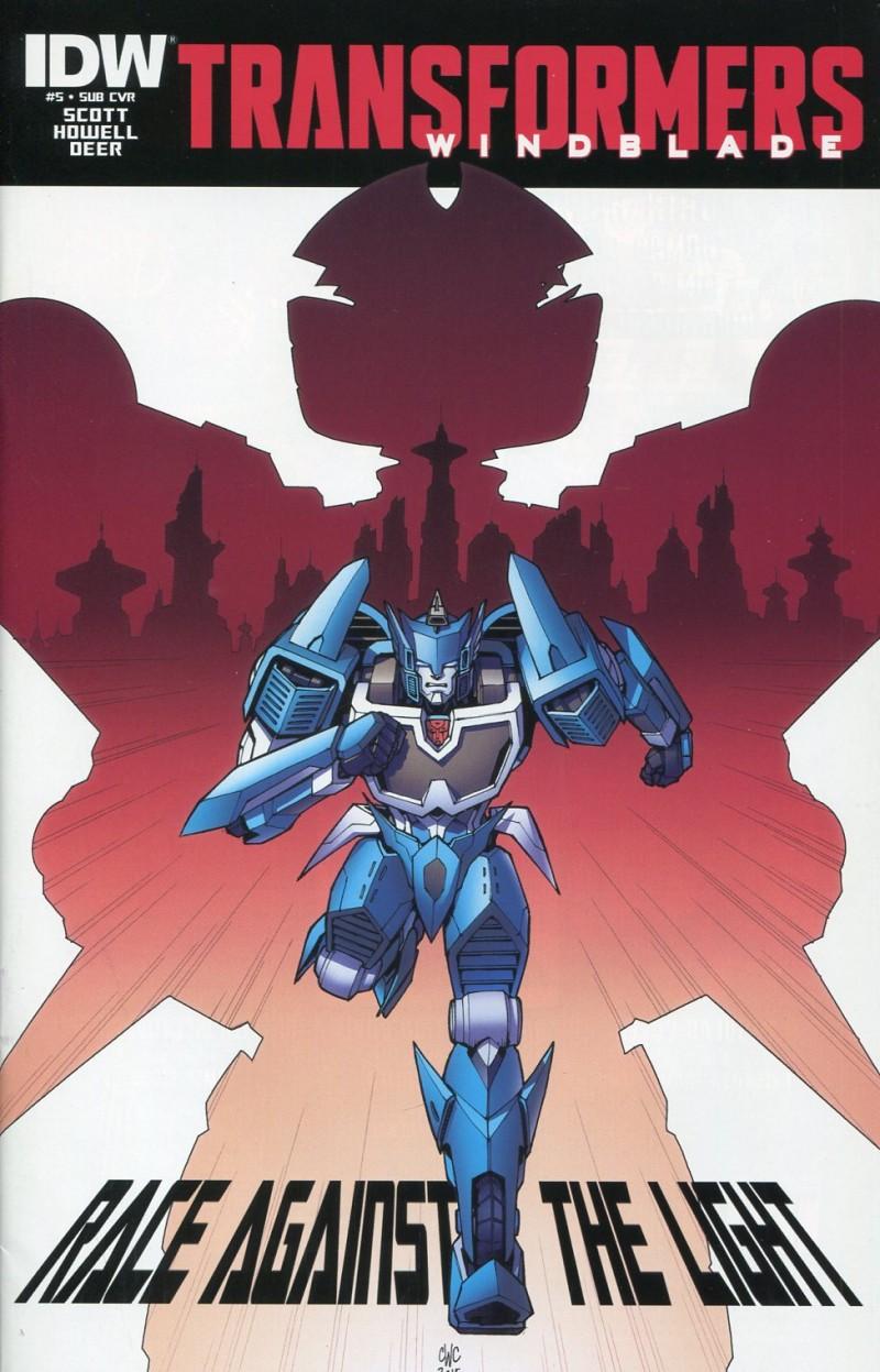 Transformers Winblade V2  #5 Sub CVR Combiner Wars