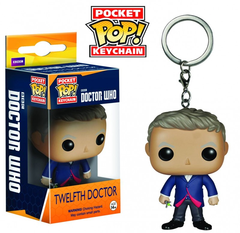 Funko Pop Dr Who Keychain 12th