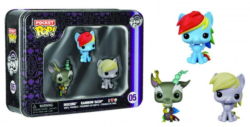Funko Pop My Little Pony  Pocket 3pc Tin Gift Set 2