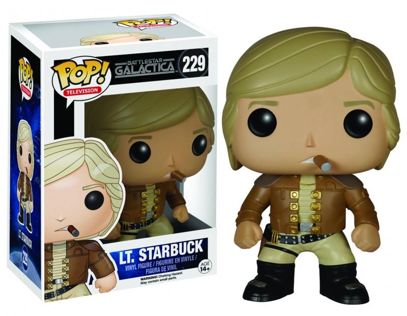 Funko Pop Battlestar  Galactica Starbuck