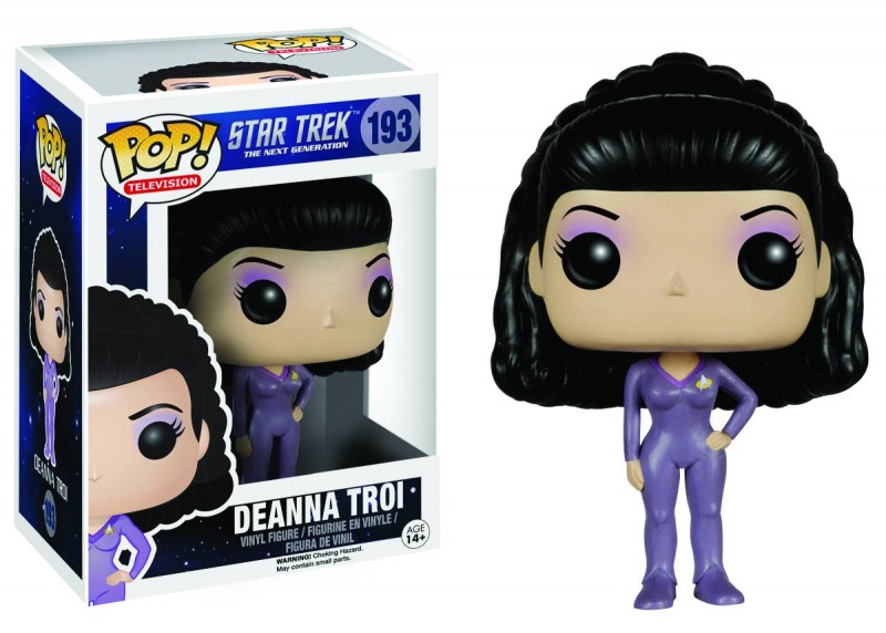 Funko Pop Star Trek TNG Deanna Troi