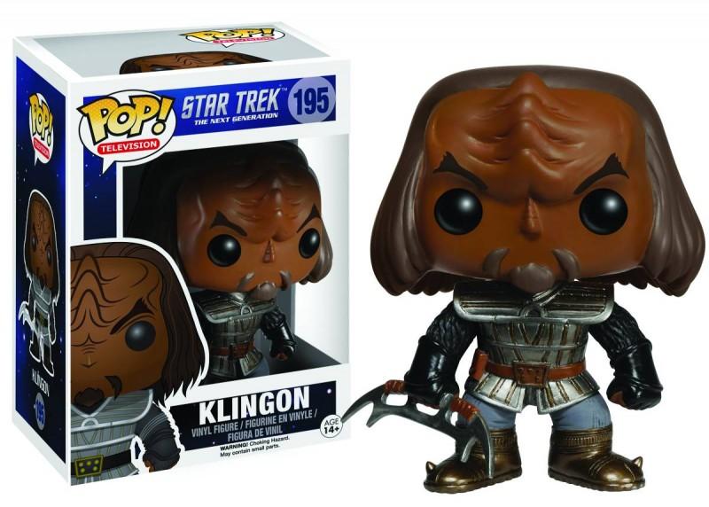 Funko Pop Star Trek TNG Klingon