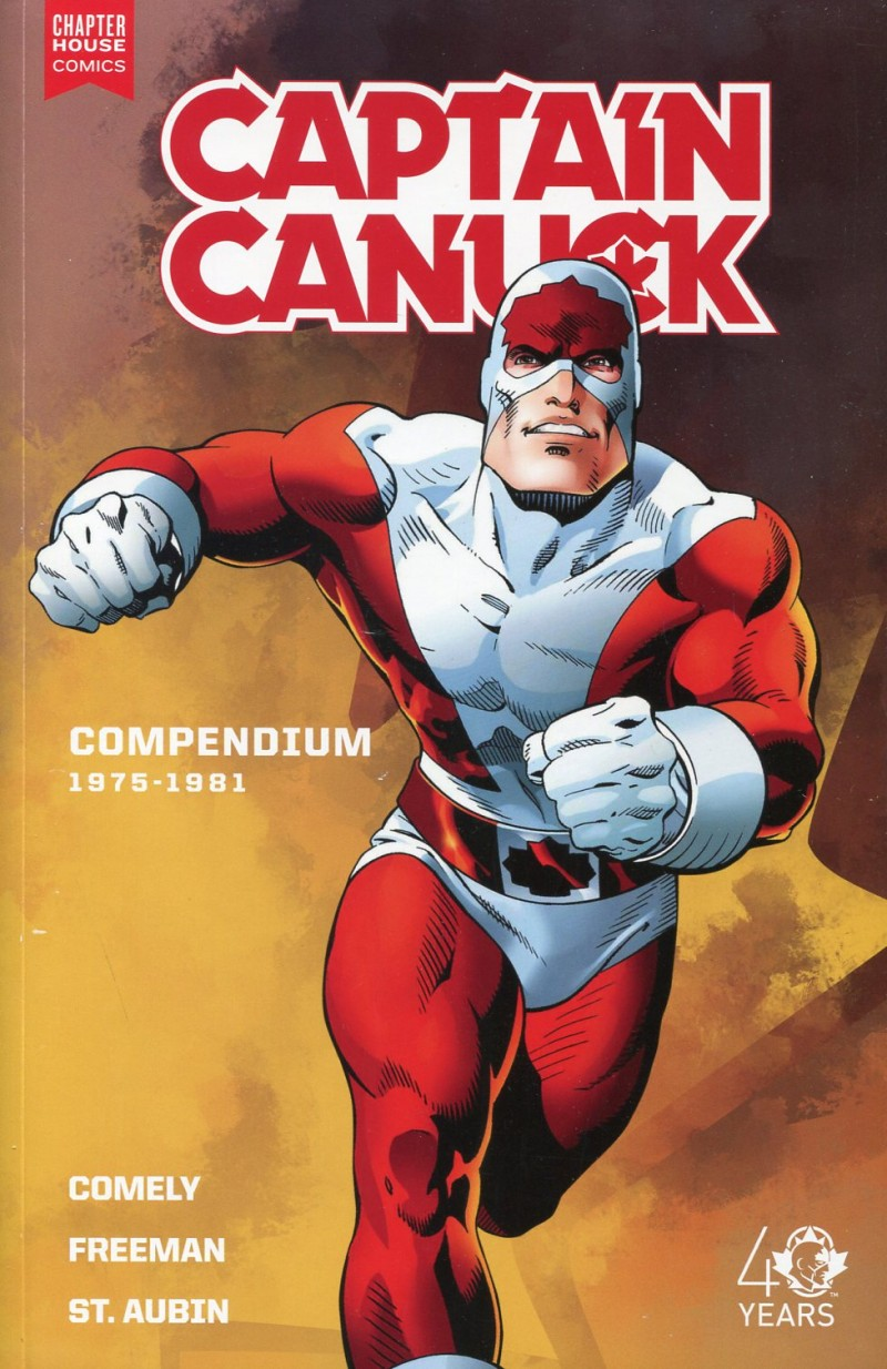 Captain Canuck TP Series  One Compendium V1