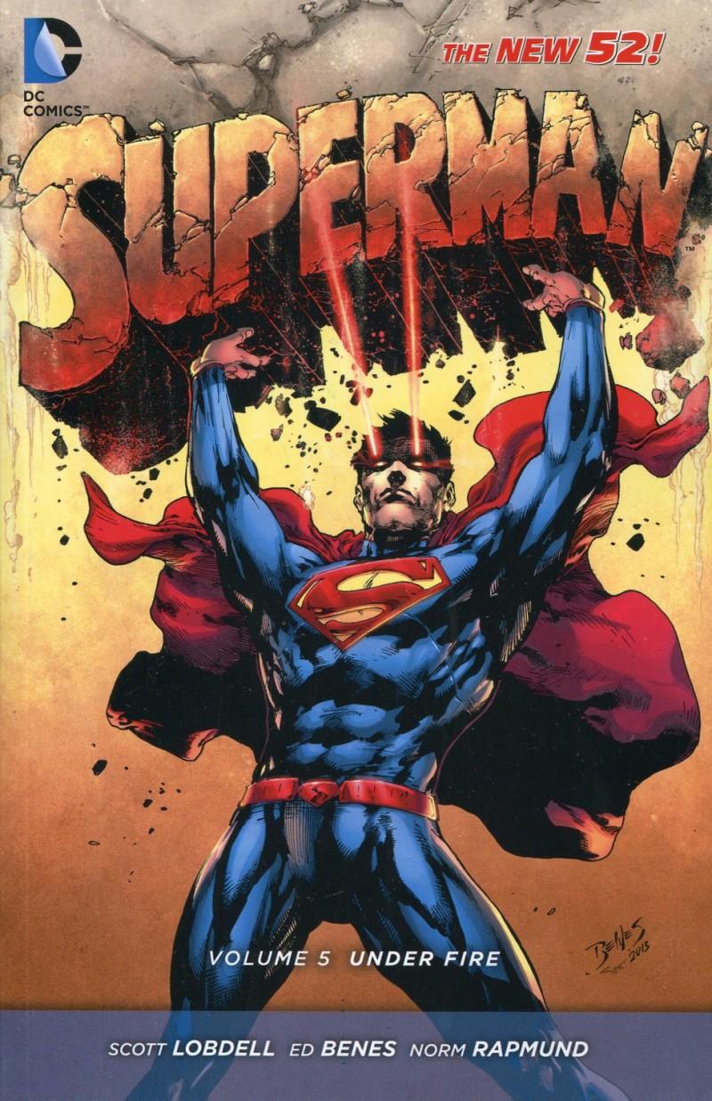 Superman TP New 52 V5 Under Fire