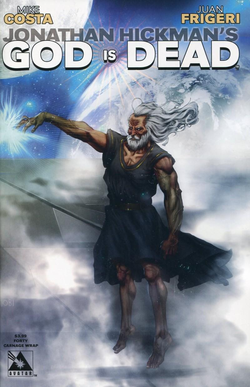 God Is Dead #40 Wrap CVR