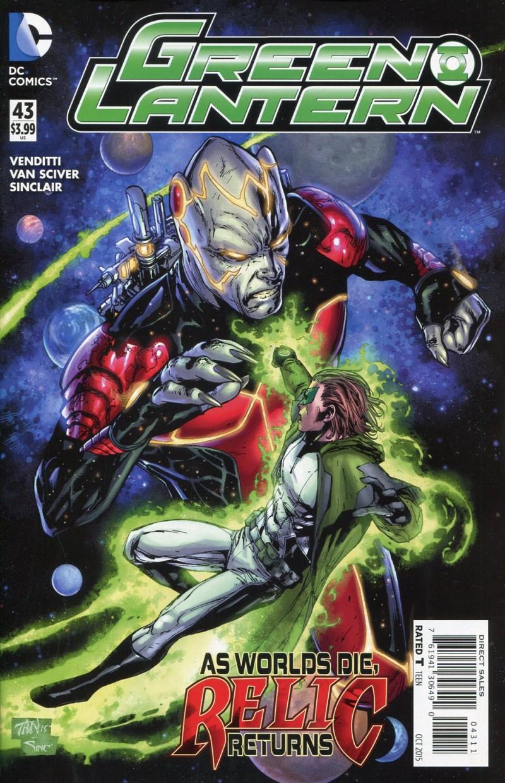 Green Lantern V5 #43