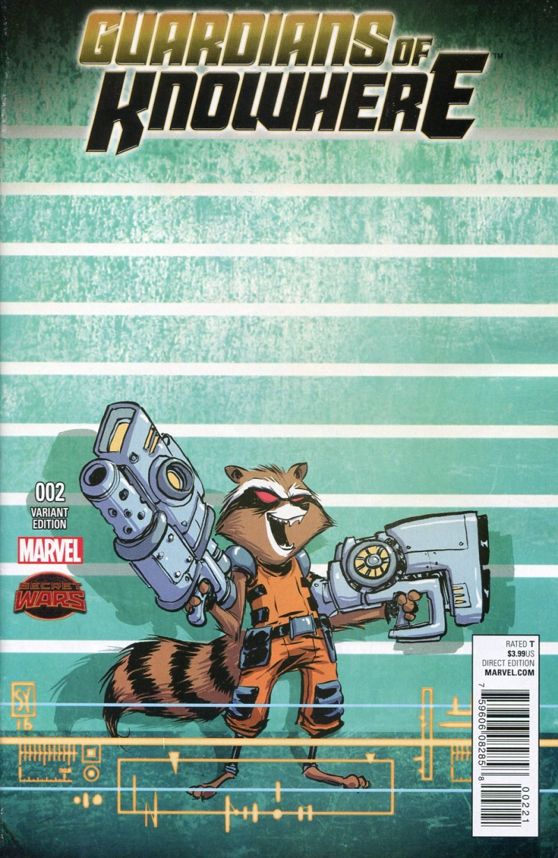 Guardians of Knowhere #2  Young Variant